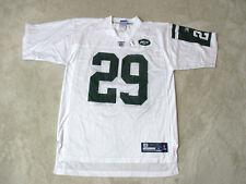 Reebok Leon Washington New York Jets Football Jersey Adult Medium White NFL Mens