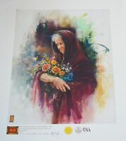 Tom DuBois Giclee Print Canvas Art Mother International Gallery Limited Edition