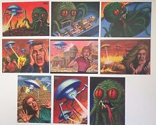 2016 Cult Stuff ILLUSTRATED WAR OF THE WORLDS 9 Card David Day Art Base Set