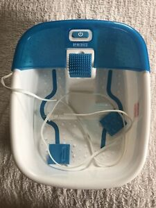 Homedics Bubble Bliss Deluxe Footbath Foot Spa Pink