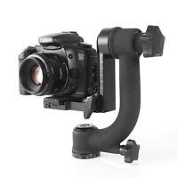 BK-45 360° Swivel Panoramic Gimbal Tripod Head For DSLR Camera Telephoto Lens