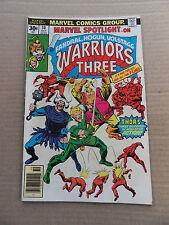 Marvel Spotlight 30 .   Warriors three -  Marvel 1976 - FN +