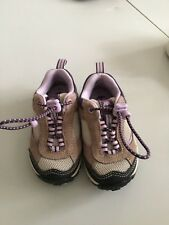 Timberland Sz 4 Hiking Walking Shoes Trailscape Toddler Girl Adjustable Purple T