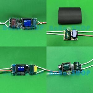 1pc~10pcs AC LED Driver 3W~54W 600mA Power Supply Lamp Light Bulb E26 E27 GU10