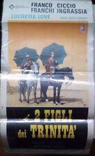 RARISSIMA LOCANDINA FILM- I 2 FIGLI DI TRINITA'- DEL1972 N.341