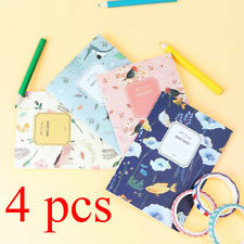 4Pcs Portable Cute Cartoon Paper Notepad Memo Diary Notebook Journal NoteBook