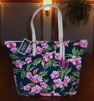 d06115c5d9 JUICY COUTURE MULTI-COLOR FLORAL PRINTED CANVAS N S TOTE W JC FOB
