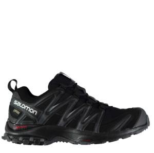 SALOMON Mens Black XA Lite GORE-TEX Running Shoes Trainers UK 11.5 BRAND NEW