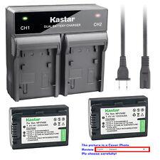 Kastar Battery Rapid Charger for Sony NP-FH50 Sony Cyber-shot DSC-HX1 DSC-HX100