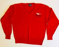 Vintage Ford Mustang Cobra 1994 Indy 500 Pace Car Small Embroidered Sweater USA