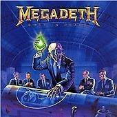 MEGADETH RUST IN PEACE 2004 REMASTER CAPITOL 724359861920