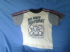 Boys 7-8 Years - Beige/Black/Grey/Red T-Shirt - Genius at Rest - Next