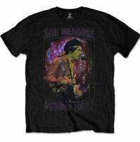 Official JIMI HENDRIX T Shirt Purple Haze Black Unisex New Size S M L XL XXL