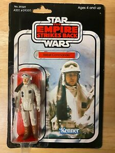 Star Wars ESB Rebel Commander Figure - 1980 Kenner 41-Back - Unopened MOC