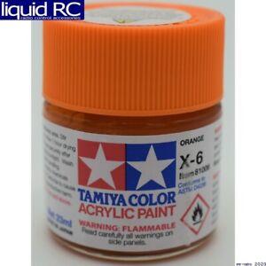 Tamiya USA TAM81006 Acrylic X6 Gloss Orange