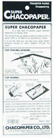 "Super Chacopaper Magic Transfer Paper White 17 1/2"" x 11 3/4"""