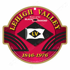 Lehigh Valley Railroad Logo Wood Plaque-Sign /Man Cave/Train & Kids Room