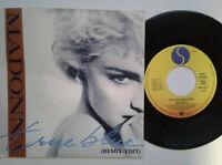 """Madonna / True Blue 7"""" Vinyl Single 1986 mit Schutzhülle"""