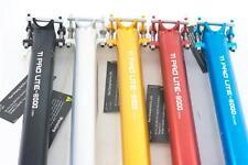 KCNC Ti Pro Lite Scandium Seatpost Ti Bolts 34.9x400mm