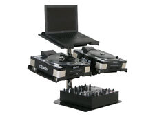 Odyssey Cases L3UNI New Laptop / Turntable & Mixer Gear Stand Pack Triple Plate