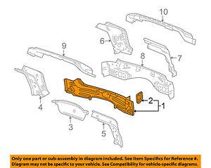 Cadillac GM OEM 10-16 SRX REAR BODY-Inner Reinforcement 25958607