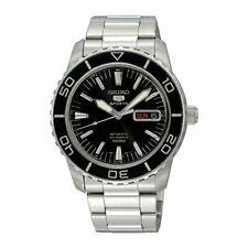 Seiko 5 SNZH55K1 Sports Automatic Black Dial Stainless Steel Mens Watch £279