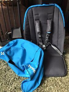 Uppababy Cruz 2015+ Seat Fabric & Hood blue