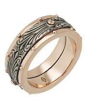 Stephen Webster London calling Men's spinner ring in sterling silver size 10