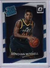 2017-18 Donruss Optic Donovan Mitchell Jazz Rated Rookie