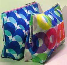 2 pcs Clinique Kapitza Cosmetic Bags New