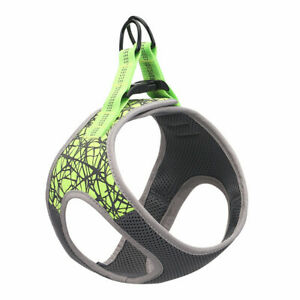 Pet Dog Puppy Harness Vest Adjustable Breathable Mesh Reflective Chest Collar