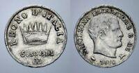 5 SOLDI 1810 MILANO NAPOLEONE I RE D'ITALIA