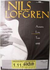 NILS LOFGREN CONCERT TOUR POSTER 1998 ACOUSTIC LIVE