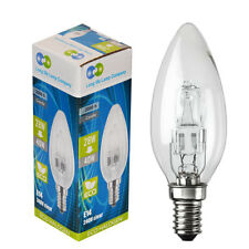E14 Edison SES Eco Halogen Candle 28W = 40W Energy Saving Light Bulb Pack Of 5