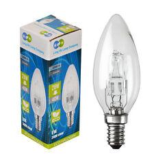E14 Edison SES Eco de Vela 28w = 40w ahorro de energía Bombilla De Luz Pack De 5