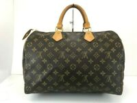 Auth LOUIS VUITTON M41526 Monogram Speedy 35 Hand Bag 56512936 d2313