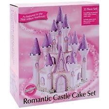 NEW WILTON Romantic Castle CAKE SET (32 Pieces)  #301-910 Disney Princess Party