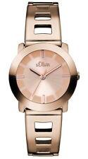 s.Oliver Damen Armbanduhr Edelstahl Rose - SO-2917-MQ