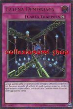 AP08-IT003 CATENA DEMONIACA - FIENDISH CHAIN - RARA ULTIMATE - ITALIANO