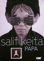 Salif Keita 1999 Papa Original Promo Poster
