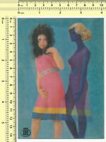 026 3D Lenticular Pinup Risque Nude Woman Pinup Doll vintage postcard post card