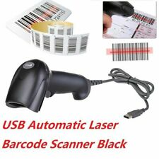 Portable USB Laser Barcode Scanner Bar Code Reader Long Scan Handheld POS PC UK