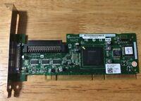 ADAPTEC SCSI CARD ASC-29320ALP RAID CONTROLLER CARD PCI-X 133 #303