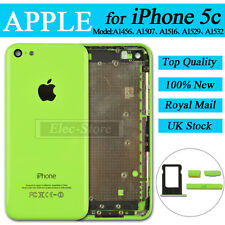 Green Back Battery Cover For iPhone 5C Replacement Housing Rear Case Mid Frame