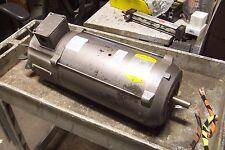 """BALDOR 3 HP DC ELECTRIC MOTOR 180 VDC 1750 RPM 184C FRAME 7/8"""" DIA CDP3604"""