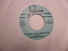 THE MINDBENDERS Ashes To Ashes/You Don't Know About 45 RPM Fontana Records VG+