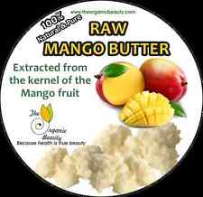 16 OZ / 1lb 100% Pure Raw Mango Butter completely Refined & Natural -body butter