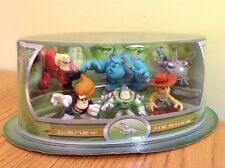 Disney Park Stores Heroes Villains Pixar Figure Set Monsters Inc Toy Story Incre