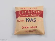 Longines Genuine Material Part #2SS Third Wheel Complete for Longines Cal. 19AS