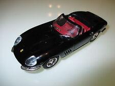 Ferrari 275 GTB Spider spyder cabrio schwarz noir negro black, Best in 1:43!